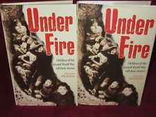 UNDER FIRE ~ Paul ROBBINS. 1st HbDj  Chn of ww2 tell their Stories  HERE in MELB