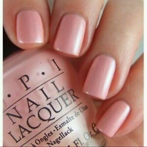 OPI Nail Polish Lacquer ~Italian Love Affair NL I27~ Pink Pearl Shade 0.5oz NEW