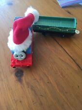 Trackmaster Thomas & Friends CHRISTMAS THOMAS WORKING Motorized Santa Hat