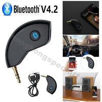 3.5mm AUX Car Bluetooth 4.2 Receiver Speaker Music Audio Streaming Adapter Mic