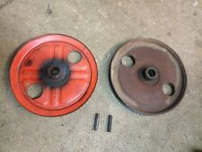"YardMan 5030-3 Tiller 8"" V & Flat Pulley Set 40032, 40033 Earth Bird Rototiller"