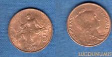 III République, 1871-1940 – 5 Centimes Daniel-Dupuis 1912 Etoile SPL FDC