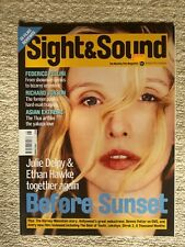 Sight And Sound - Julie Delpy Before Sunset - August 2004 Fellini Gloria Grahame