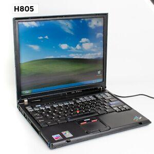 "IBM THINKPAD T41 14"" LAPTOP PENTIUM M 1GB 40GB WIN XP PRO H805"