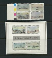 Southwest Africa 1975 #383A-B  Art paintings Otto Schroeder  MNH  J874