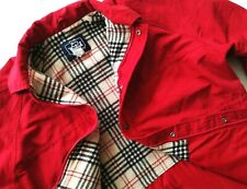 *HOT USA Women's WOOLRICH JOHN RICH&BROS @ PARKA HOODED WOOL LINED RED JACKET XL