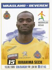 318 IBRAHIMA SECK # SENEGAL KV.WAASLAND-BEVEREN STICKER PRO LEAGUE 2017 PANINI