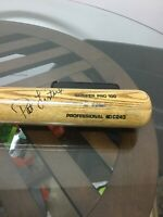 Milwaukee Brewers Pat Listach Signed Autographed Game Used Bat