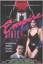 EMPIRE STATE MOVIE POSTER Original SS 27x40 Rolled 1987 THRILLER MARTIN LANDAU