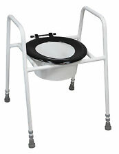 Solo Skandia Raised Toilet Seat and Frame VR157