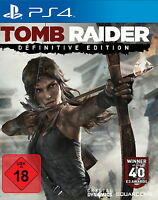 Tomb Raider -- Definitive Edition Ps4 (Sony PlayStation 4) NEU OVP