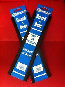 BLACK CAR DOOR PROTECTOR BLACK  2 PACK 4 GUARDS