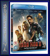 IRON MAN 3 *** BRAND NEW BLU-RAY ** REGION FREE **