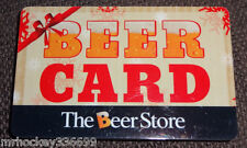 The BEER STORE Holiday BEER CARD  Collectors gift card (no cash value)