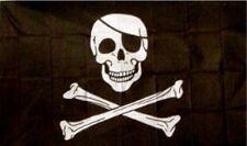 Pirate Flag Large 3X5' Foot Ft Jolly Roger Flags Banner Skull Crossbones