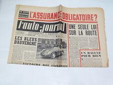 Documentación automóvil - el Auto Journal : 1er febrero 1954