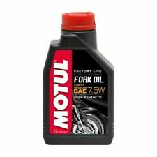 Motul Factory Line Forcella 1L 7.5W Fruido per Forcelle Moto - Nero (101127)
