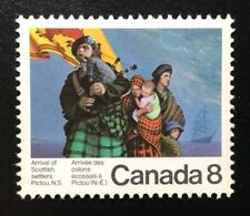 Canada #619 MNH, Scottish Settlers and Hector Stamp 1973