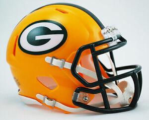 Green Bay Packers NFL Replica Speed Mini Football Helmet
