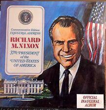 SEALED Richard Nixon LP - Commemorative Edition Inaugural Address - 1969