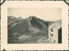France, le Refuge de la Croix du Bonhomme, la Crête des Gittes    Vintage silver