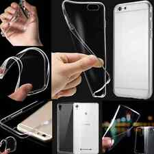 for Universal TPU Case Cover Ultra Thin Crystal Clear Transparent Soft Silicone