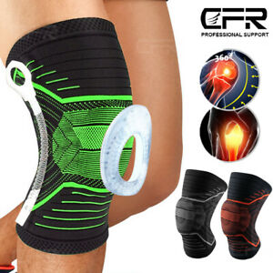 Hochwertige Kniebandage Kniestütze Sport Bandage Knie Schutz Stabilisatoren CFR