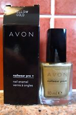AVON Nailwear Pro+ Yellow Gold Nail Enamel Polish NEW (RRP £6.00)