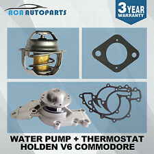 Water Pump Holden Commodore V6 VN VP VR 1988-7/04 VS VT VU VX VY 3.8L+Thermostat