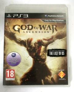 God of War Ascension Sony Playstation 3 PS3 Game FREE P&P