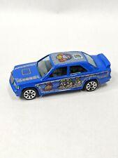 Disney Burago Diecast Toy Car 1:43 Scale Mercedes 190 E Italy Beagle Boys