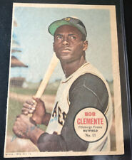 1967 Topps Posters #11 Roberto Clemente poster, Pittsburgh Pirates