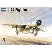 Trumpeter 1:48 J-7A Fighter Aircraft Model Kit