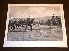 Guerra Balcani 1913 Czar Ferdinando di Bulgaria + La Du Barry Camussi Londra