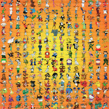 225 TOONS  BLOTTER ART perforated sheet paper psychedelic art