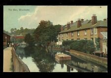 Hants Hampshire WINCHESTER Weir pre 1919 PPC Boots Pelham Series