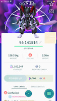 Pokemon Go - Master League 35 PVP - Armored Mewtwo