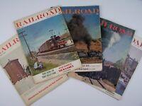 Railroad Magazine 5 Piece Lot 1965-1967 Period