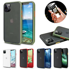 360° Matte Hard Case For Samsung Huawei P30 Pro Liquid SILICONE + Tempered Glass
