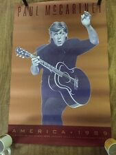 PAUL McCARTNEY – America 1989, Tour POSTER