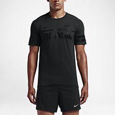 Nike Dry Brazil Short Sleeve Men's Running Top (L) 812030 010