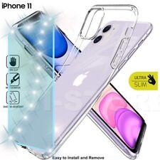 Cover Custodia + Pellicola Vetro Temperato Per iPhone 11 Trasparente Silicone