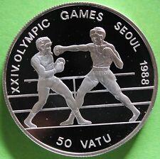 VANUATU 50 VATU 1988 ARGENT