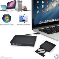 External Slim USB 3.0 DVD±RW DVD-ROM CD-RW DVD-RW Read Writer Burner Drive Play