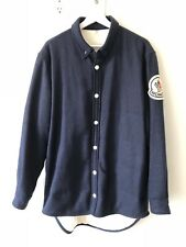MONCLER - Didier Giubbotto - Goose Down Padded Navy Wool Overshirt - Size 3
