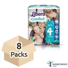 Libero Comfort 4 (7-11 kg) - Case - 8 Packs de 26