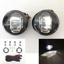 Built-in LED DRL Front Fog Light for Nissan Acura Honda Ford Suzuki Wire Switch