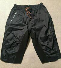 Endura Men's Nylon Cycling Shorts Elastic Waist, Reflective Trim Sz XXL #B2
