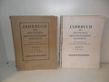 Jahrbuch des Deutschen Archäologischen Instituts. Walter de Gruyter & Co., 1941.