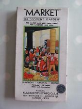 Market of Covent Garden Card Game by Stage-Bak rare vintage complete
